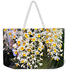 Weekender Tote Bag featuring the photograph Exotic Aerides by The Art of Alice Terrill