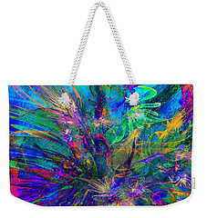 Exotic Dream Flower Weekender Tote Bag by Klara Acel