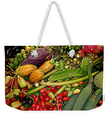 Exotic Fruits Weekender Tote Bag by Carey Chen