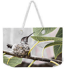 Expectant Mother Weekender Tote Bag