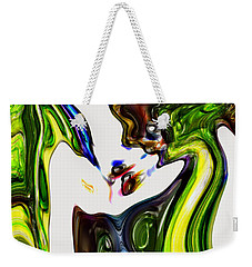 Weekender Tote Bag featuring the digital art Expectation by Richard Thomas
