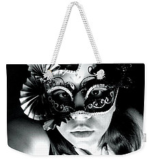 Weekender Tote Bag featuring the photograph Expectations by Vicki Spindler