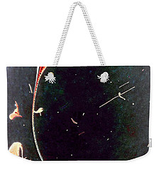 Weekender Tote Bag featuring the painting Exploring New Depths by Jacqueline McReynolds