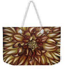 Explosion Weekender Tote Bag by Paula Ludovino