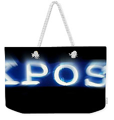 Weekender Tote Bag featuring the photograph Exposed  by Kelly Awad