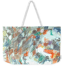 Express Graphic Weekender Tote Bag by Esther Newman-Cohen