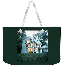 Exterior Of Mr. And Mrs. Jay Hanslemann's Weekender Tote Bag