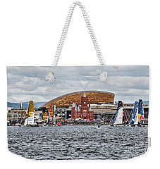 Extreme 40 At Cardiff Bay Weekender Tote Bag