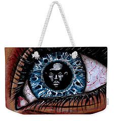 Eye Contact Weekender Tote Bag