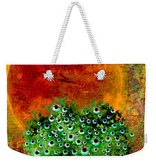 Eye Like Apples Weekender Tote Bag by Ally  White