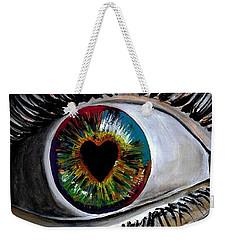 Eye Love You Weekender Tote Bag