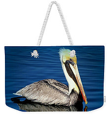 Eye Of Reflection Weekender Tote Bag