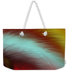 Eye Of The Beast Weekender Tote Bag by Anita Lewis