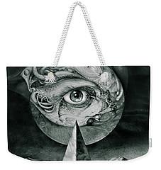 Eye Of The Dark Star Weekender Tote Bag