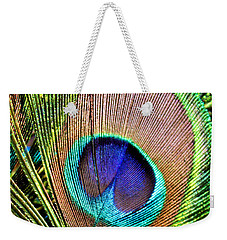 Eye Of The Feather Weekender Tote Bag