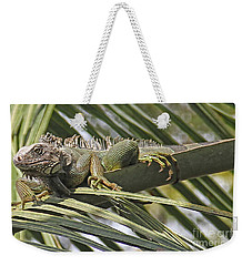 Eye Of The Iguana Weekender Tote Bag