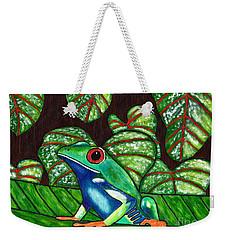 Eye On You Weekender Tote Bag by Laura Forde
