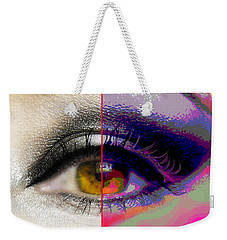 Eye Transformed Weekender Tote Bag by Mary Armstrong