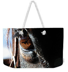 Eyeball Reflection Weekender Tote Bag