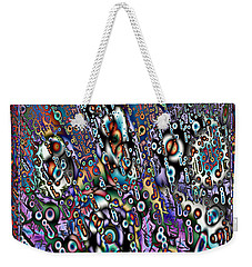 Eyeballs And Eight Balls Weekender Tote Bag