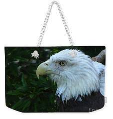 Weekender Tote Bag featuring the photograph Eyecon by Greg Patzer