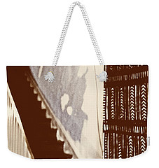 Eyes At The Top Of The Stairs Weekender Tote Bag