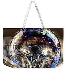 Weekender Tote Bag featuring the photograph Eyes Of The Imagination by Omaste Witkowski