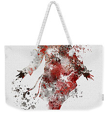 Ezio  Weekender Tote Bag by Rebecca Jenkins