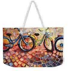 Fa Caldo Troppo Guidare Weekender Tote Bag by Jen Norton