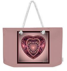 Faberge Heart Weekender Tote Bag