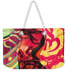 Fabric Collision Weekender Tote Bag by Alec Drake