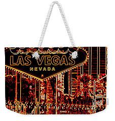 Fabulous Las Vegas Weekender Tote Bag