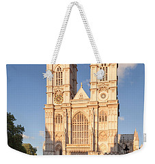Facade Of A Cathedral, Westminster Weekender Tote Bag by Panoramic Images