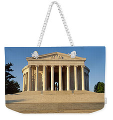 Facade Of A Memorial, Jefferson Weekender Tote Bag by Panoramic Images