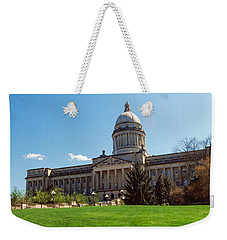 Facade Of State Capitol Building Weekender Tote Bag