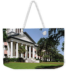 Facade Of The Old Florida State Weekender Tote Bag by Panoramic Images