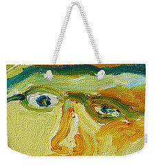 Face Eight Weekender Tote Bag
