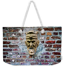 Face Fountain In Pirates Courtyard Weekender Tote Bag