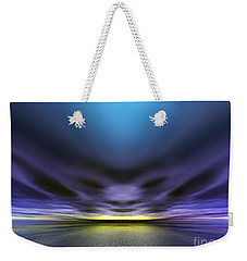 Face In The Clouds Weekender Tote Bag