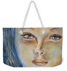 Face Of An Angel Weekender Tote Bag