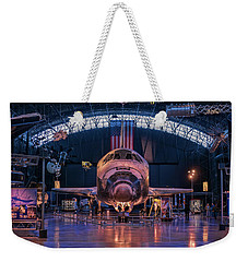 Face Of Discovery Weekender Tote Bag