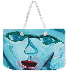 Face Two Weekender Tote Bag