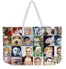 Facebook Of Faces Weekender Tote Bag