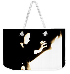 Weekender Tote Bag featuring the photograph Faceless Magician  by Jessica Shelton
