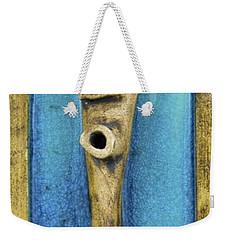 Faces #7 Weekender Tote Bag by Mario Perron