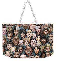 Faces Of Humanity Weekender Tote Bag