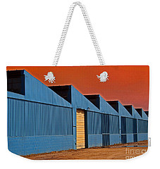 Factory Building Weekender Tote Bag