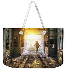 Factory Chase Weekender Tote Bag by Carlos Caetano
