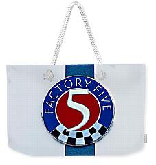 Factory Five Weekender Tote Bag