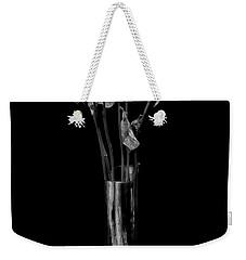 Faded Long Stems - Bw Weekender Tote Bag